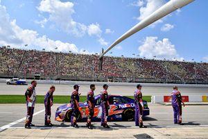 Denny Hamlin, Joe Gibbs Racing, Toyota Camry FedEx Office crew
