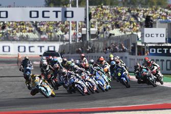 Jorge Martin, Del Conca Gresini Racing Moto3, Race start