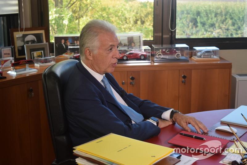 Piero Ferrari, vicepresidente de Ferrari