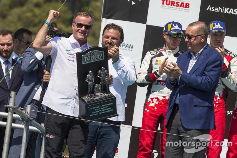 Podyum: Tommi Makinen, Toyota Gazoo Racing