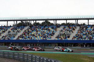 Start action, Jean-Karl Vernay, Leopard Lukoil Team Audi RS3 LMS TCR leads