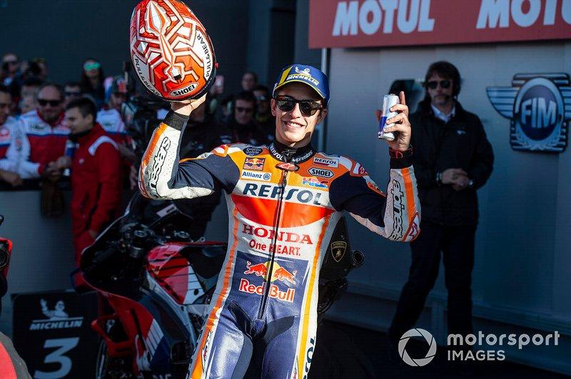 2º clasificado Marc Marquez, Repsol Honda Team