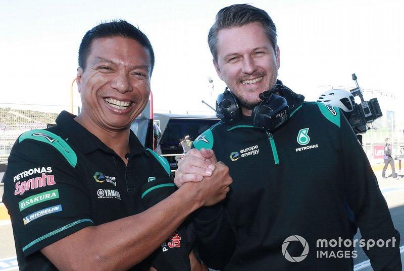 Razlan Razali, Johan Stigefelt, Petronas Yamaha SRT