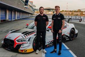 Ed Jones, Fabio Scherer, Audi Sport Team WRT