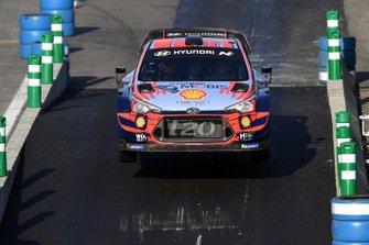 Acción en pista del Monza Rally Show