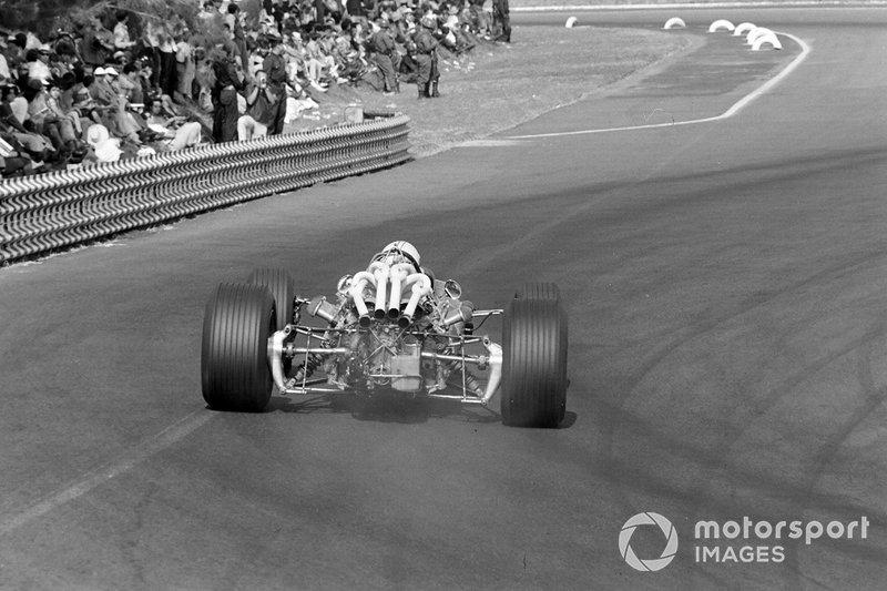 Denny Hulme, Brabham, al GP del Messico del 1967