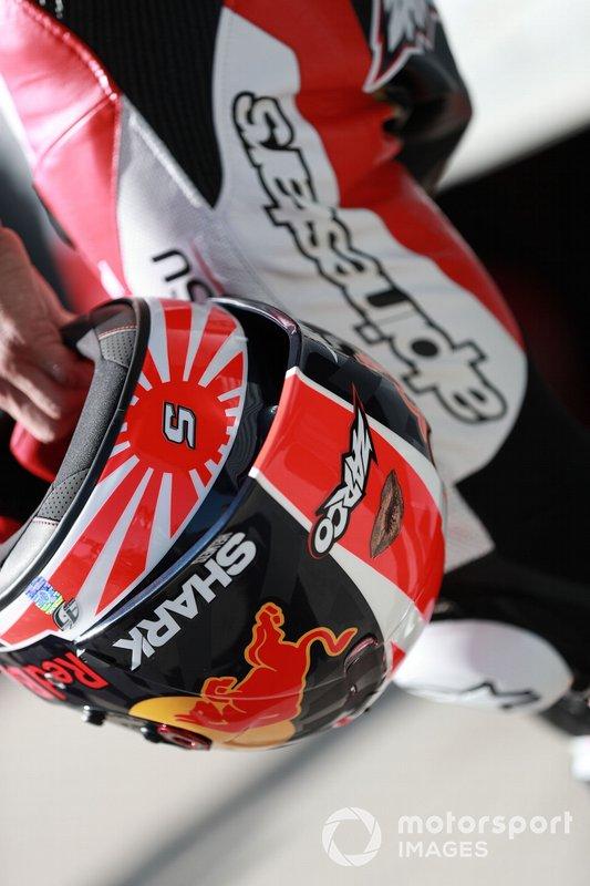 Casco de Johann Zarco, Team LCR Honda