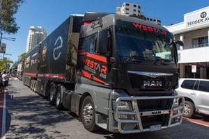 Erebus Motorsport transporter