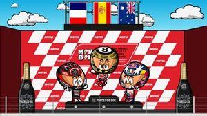 El podio del GP de Valencia 2019, por MiniBikers