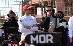 Edoardo Mortara, Venturi, EQ Silver Arrow 01 on the grid