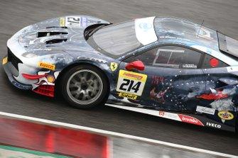 #214 Ferrari 488 Challenge, Ferrari of Newport Beach: Brent Holden