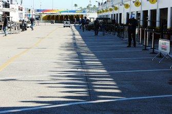 Area dei garage a Daytona