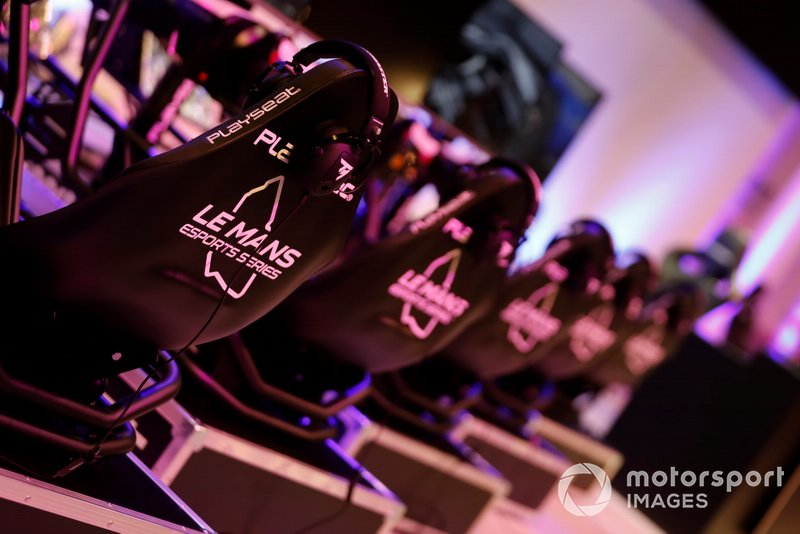 The Le Mans eSports Series stand