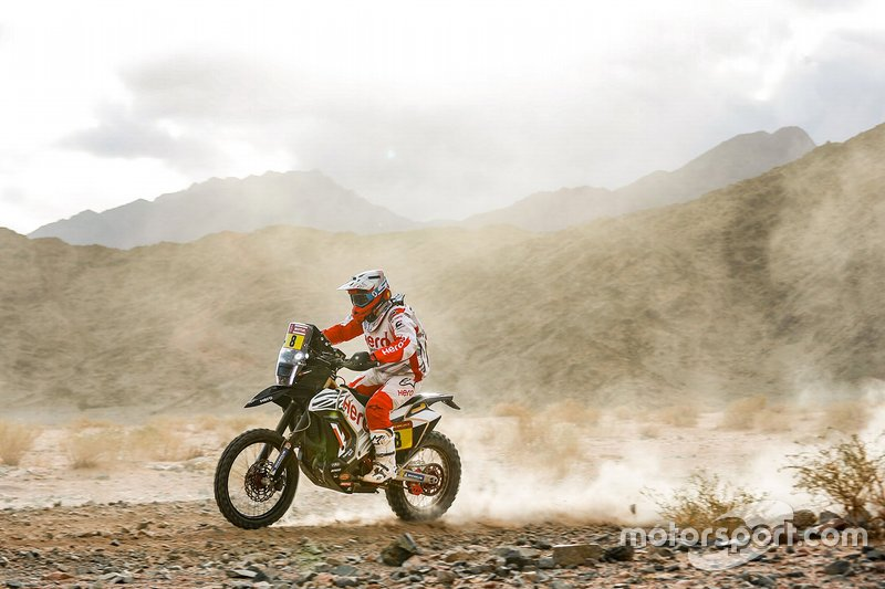 #8 Hero Motosports Team Rally: Paulo Goncalves