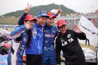 GT500 champions #6 Lexus Team LeMans Lexus LC500: Kazuya Oshima, Kenta Yamashita