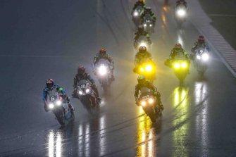 Azione in pista alla gara della 8 Ore di Sepang