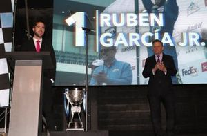Rubén García campeón Nascar Peak México