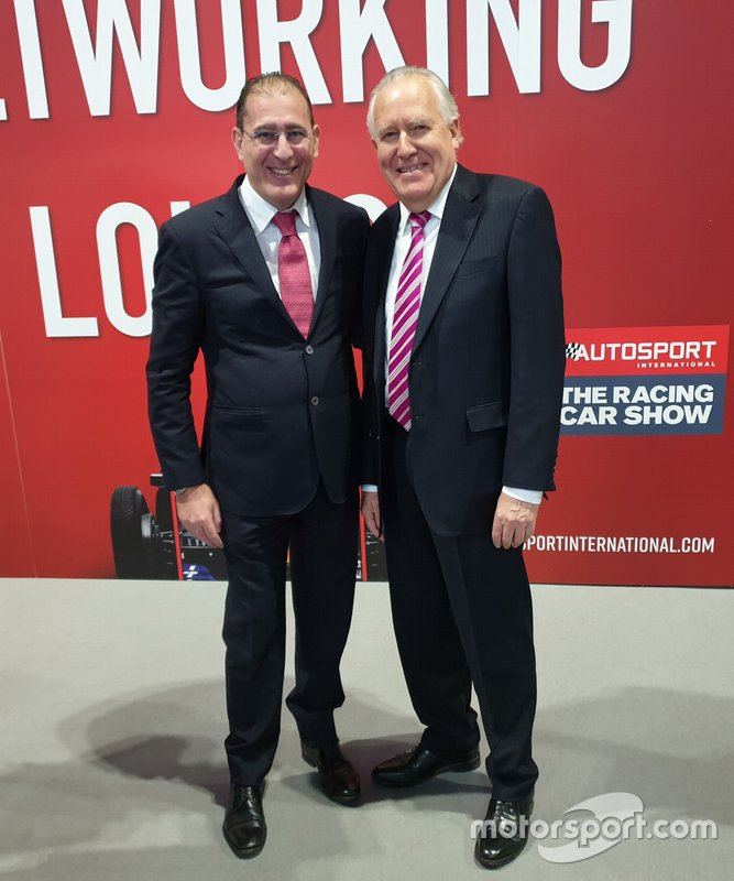 Walter Sciacca - Lord Peter Hain, Motorsport Leaders Business Forum