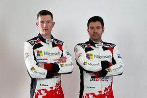 Elfyn Evans, Scott Martin, Toyota Racing
