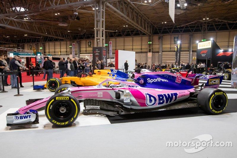 Coche del Racing Point F1