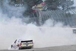Race Winner Tyler Dippel, Young's Motorsports, Chevrolet Silverado