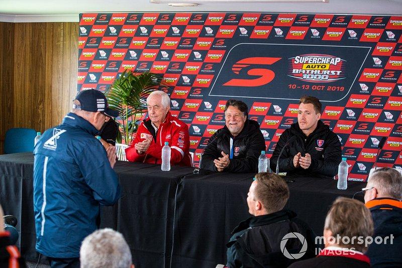 Roland Dane, Roger Penske, Michael andretti, Ryan Walkingshaw