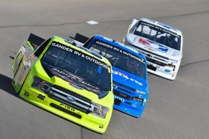 Matt Crafton, ThorSport Racing, Ford F-150 Damp Rid / Menards, Brett Moffitt, GMS Racing, Chevrolet Silverado Allegiant