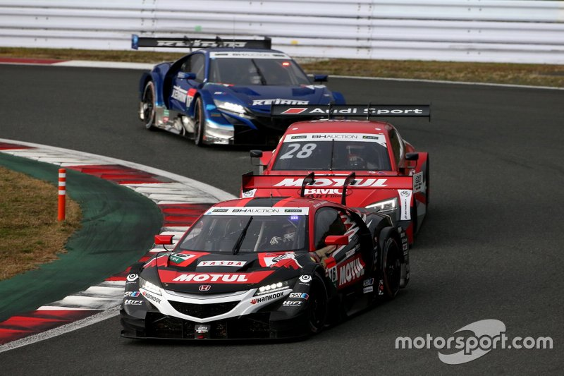 Daisuke Nakajima, Team Mugen Honda NSX-GT, Loic Duval, Audi Sport Team Phoenix Audi RS5 DTM