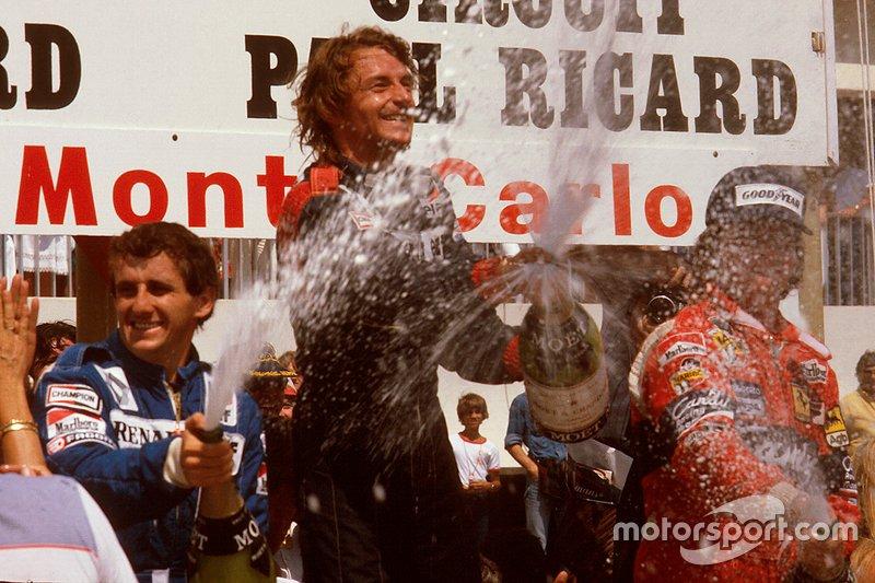 1982 – Un podio tutto francese