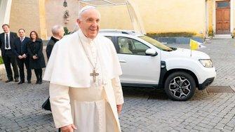 El nuevo Dacia Duster del Papa Francisco