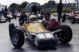 Domingos Piedade with Aytron Senna, Macau 1981
