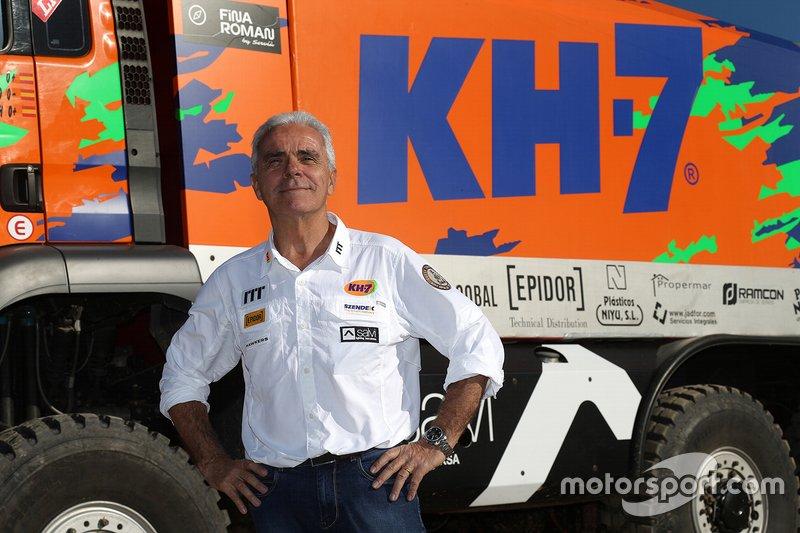José Luis Criado, KH-7 Epsilon Team Rally