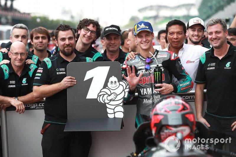 Fabio Quartararo a signé sa cinquième pole position de la saison, avec le record de la piste à la clé!