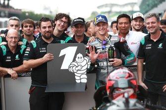 Pole sitter Fabio Quartararo, Petronas Yamaha SRT