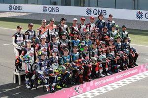 Moto2 rider line-up