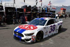 John Hunter Nemechek, Front Row Motorsports, Ford Mustang Fire Alarm Services