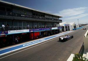 Sam Bird, Virgin Racing, Audi e-tron FE06, Robin Frijns, Virgin Racing, Audi e-tron FE06