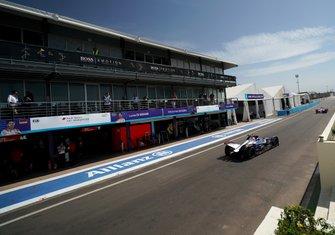 Сэм Бёрд и Робин Фрейнс, Virgin Racing, Audi e-tron FE06