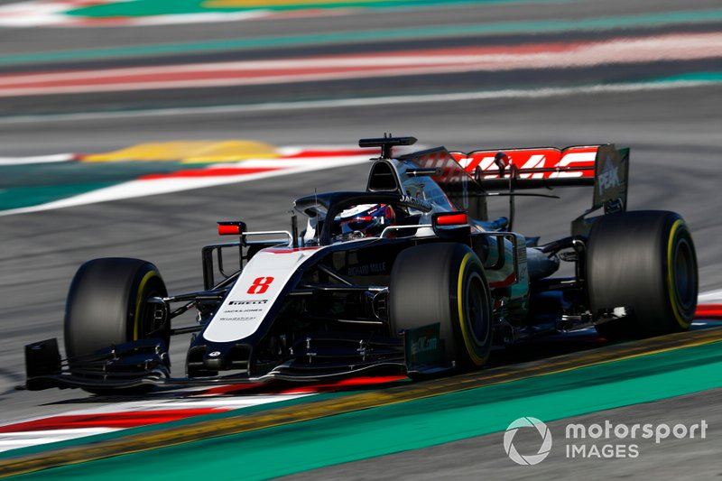 Romain Grosjean, Haas F1 Team VF-20