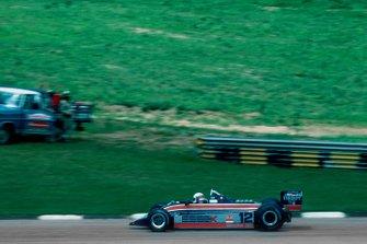 Elio de Angelis, Lotus, al GP del Brasile del 1980