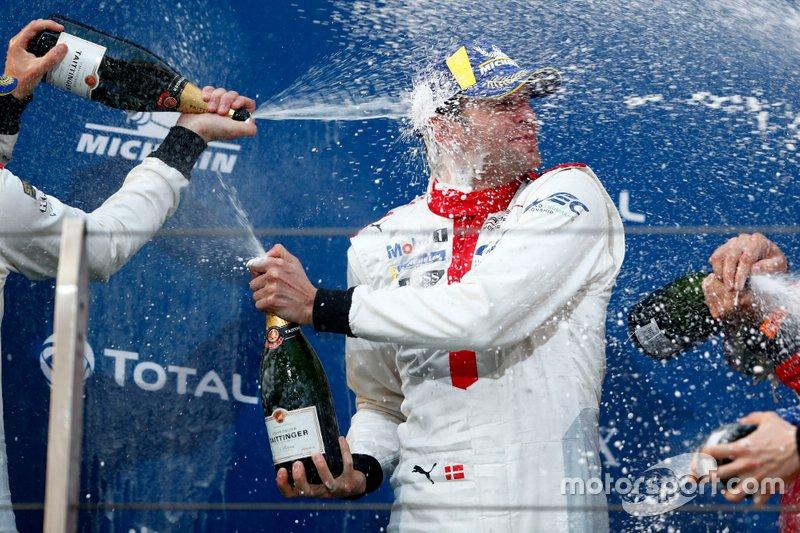 Podio: #92 Porsche GT Team Porsche 911 RSR - 19: Michael Christensen