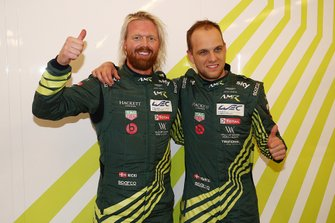 Pole sitter GTE Pro, #95 Aston Martin Racing Aston Martin Vantage AMR: Marco Sørensen, Nicki Thiim