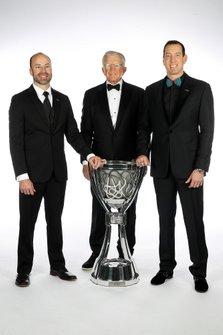 NASCAR Cup-Champion 2019: Kyle Busch mit Coach Joe Gibbs und Adam Stevens