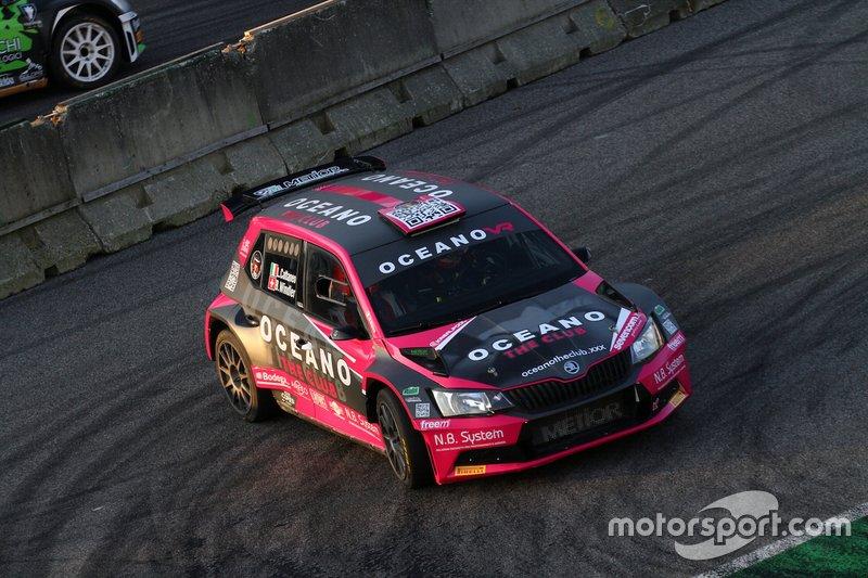 Luca Cattane, Beniamino Bianco, Skoda Fabia R5, ABS Sport