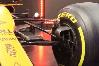 McLaren MCL35 front suspension detail