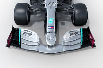Mercedes AMG F1 W11 front wing detail