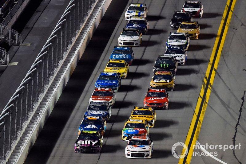 Jimmie Johnson, Hendrick Motorsports, Chevrolet Camaro Ally, Alex Bowman, Hendrick Motorsports, Chevrolet Camaro Valvoline
