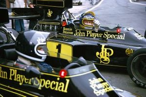 Jacky Ickx, Lotus, Ronnie Peterson, Lotus, al GP d'Olanda del 1974