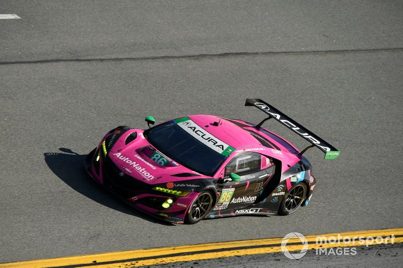 #86 Meyer Shank Racing w/Curb-Agajanian Acura NSX GT3, GTD: Mario Farnbacher, Matt McMurry, Shinya Michimi, Jules Gounon