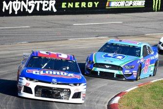 Chris Buescher, JTG Daugherty Racing, Chevrolet Camaro Clorox, Ricky Stenhouse Jr., Roush Fenway Racing, Ford Mustang Fifth Third Bank